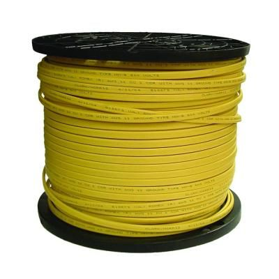 Southwire 1000 Ft 12 2 Solid Romex Simpull Cu Nm B W G Wire 28828201 The Home Depot Electricity Wire The Home Depot