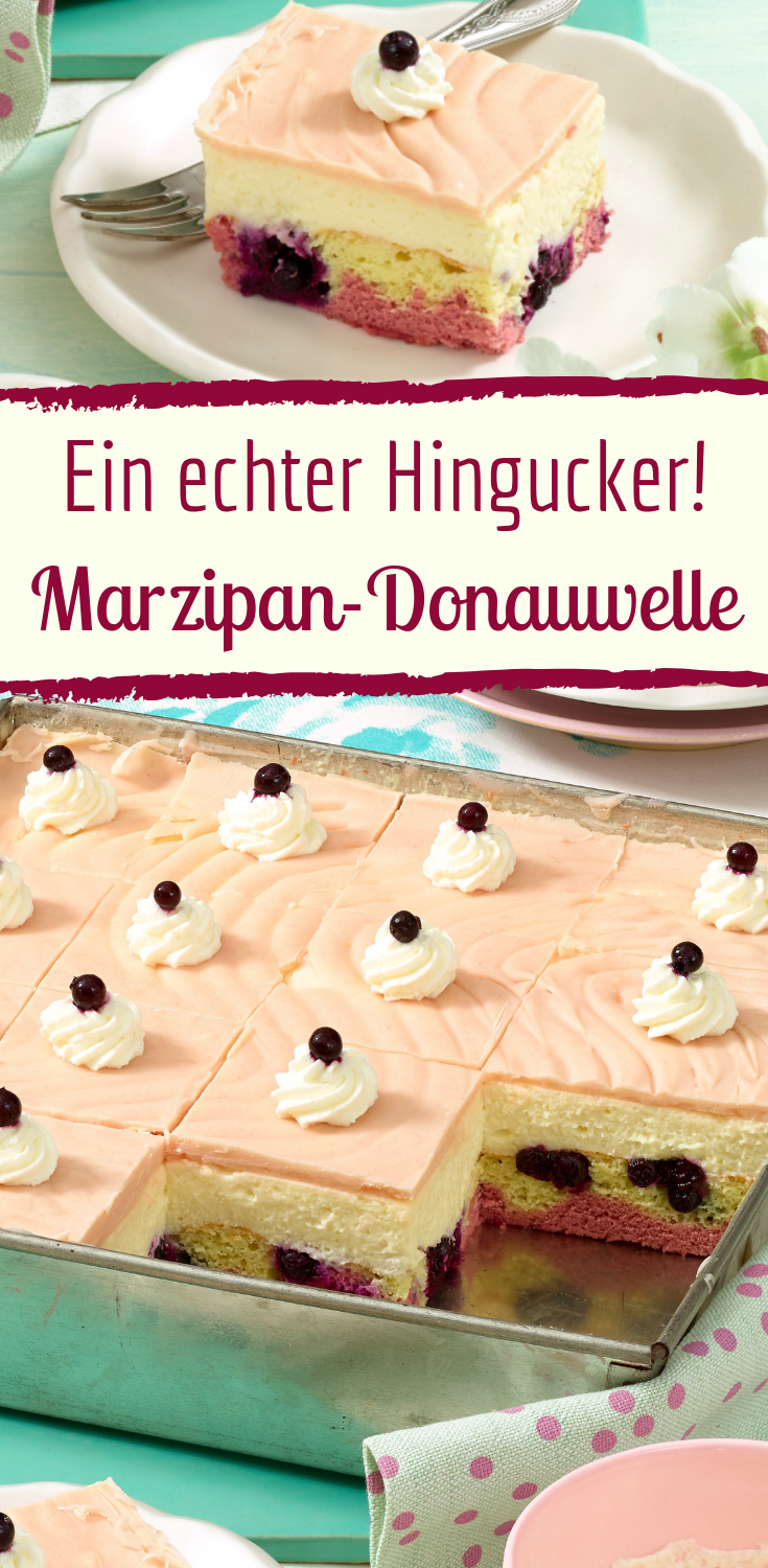 Photo of This fruity marzipan-Danube wave will delight your guests