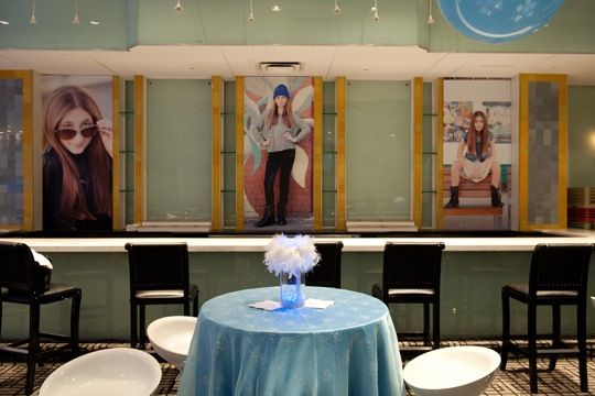 Personal the #poshultralounge bar with your images #themed #batmitzvah #gardencityhotel