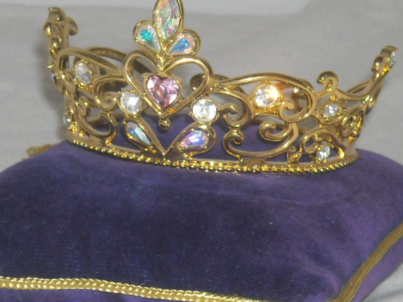 Franklin Mint Cinderella Tiara Crown with Pillow | eBay