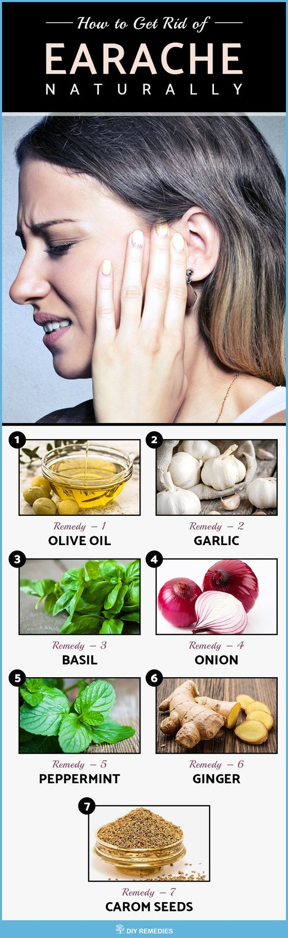 How to get rid of earache naturally remedies natural remedies and