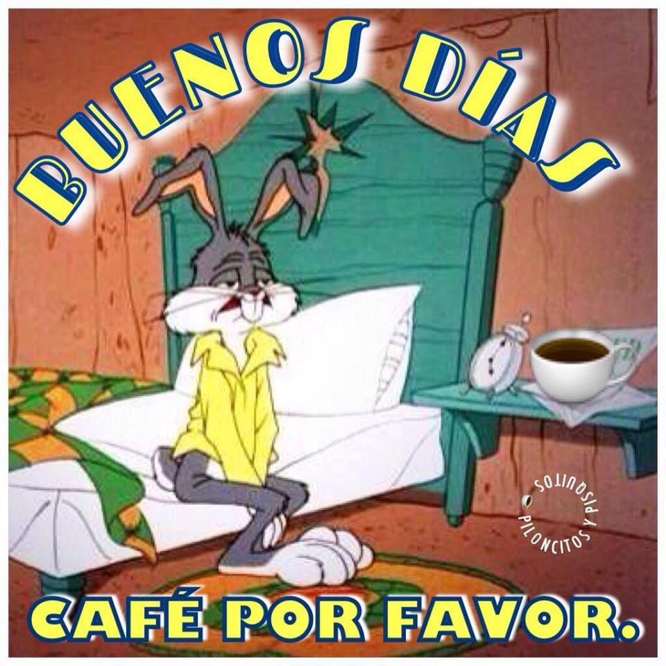 Buenos Dias Cafe Por Favor Buenos Dias Chistosos Imagenes De