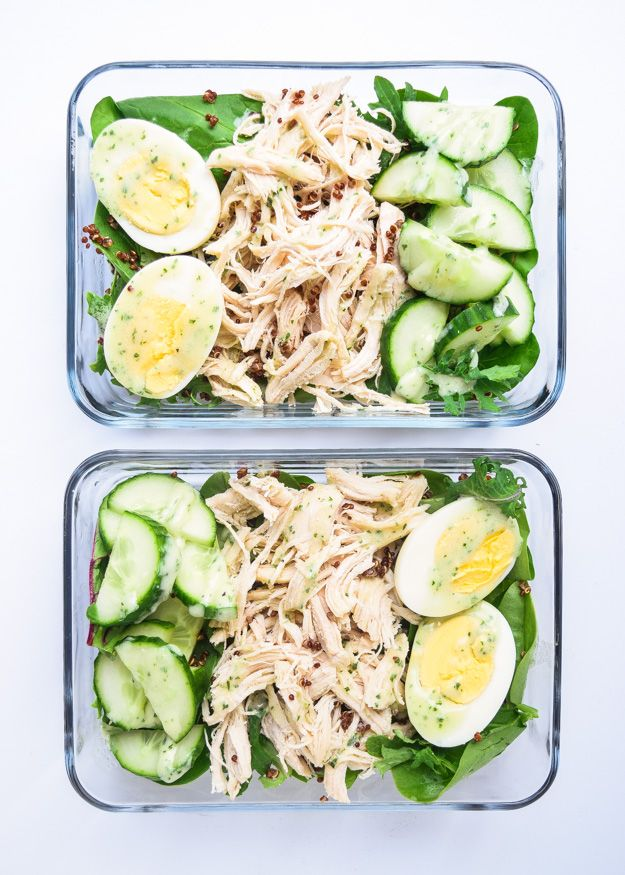 Meal Prep Protein Bowls (Gluten Free) • Tastythin