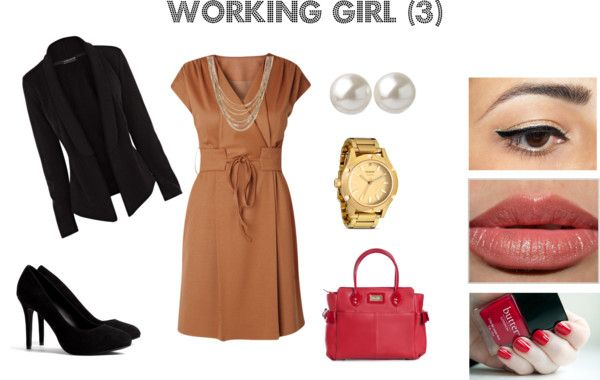 """working girl (3)"" by fiorella-garcia-pacheco-morzan on Polyvore"