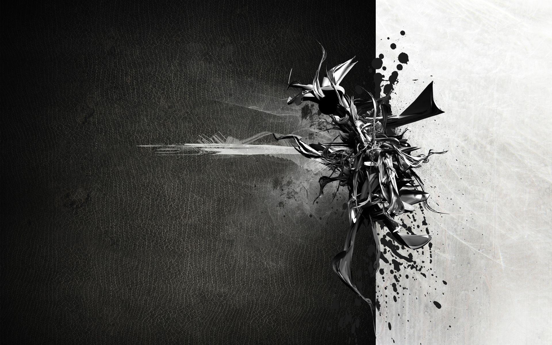 Famous black white wallpaper   Exercise   Pinterest   Abstract ...