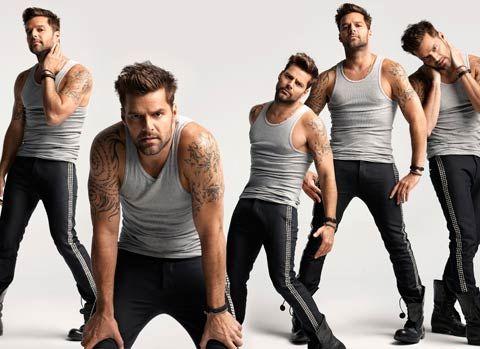 Ricky Martin for Latina Magazine