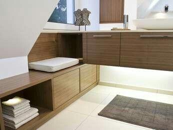 Badezimmer unterm Dach Bad mit dachschräge, Badezimmer