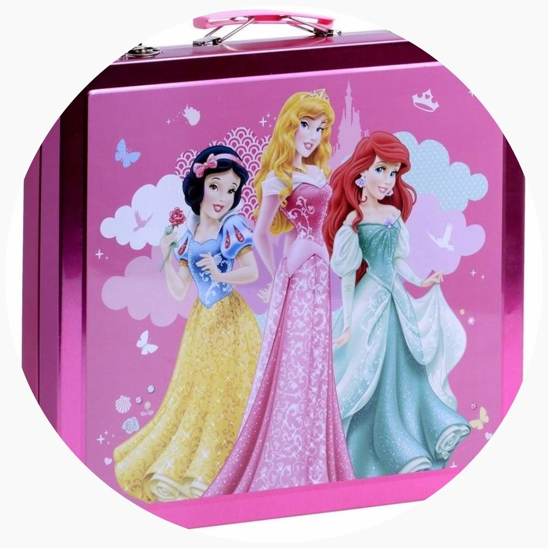 Sambro Disney Princess Tin Art Case Art case, Tin art