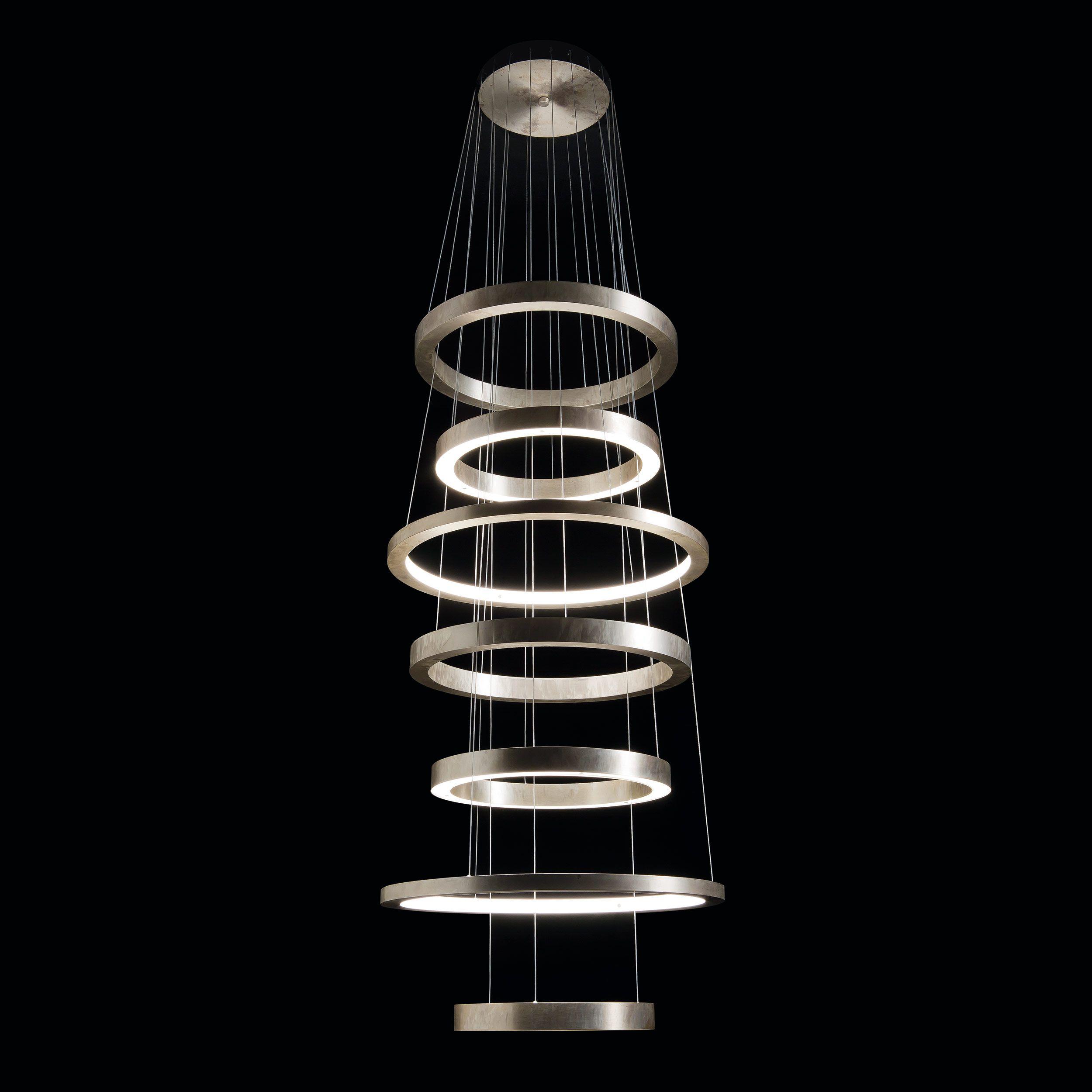 Henge light ring slim xxl brass pendant led light several henge light ring slim xxl brass pendant led light several compositions handmade designed parisarafo Choice Image