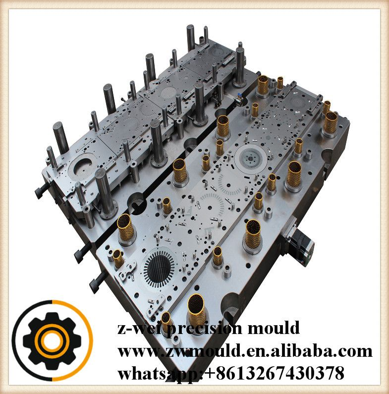 Pump Lamination Stamping Die Z Wei Mould Stamping Tools Molding Stamp