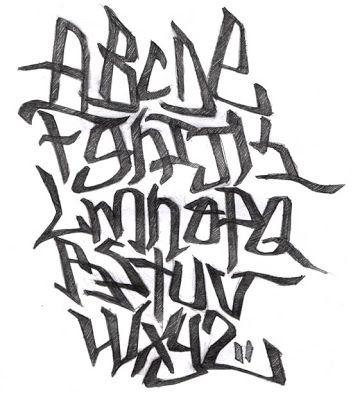 Graffiti Letters Old School