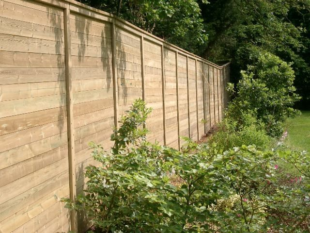 Acoustic fencing in a garden #design #home #garden #Jakoustic ...