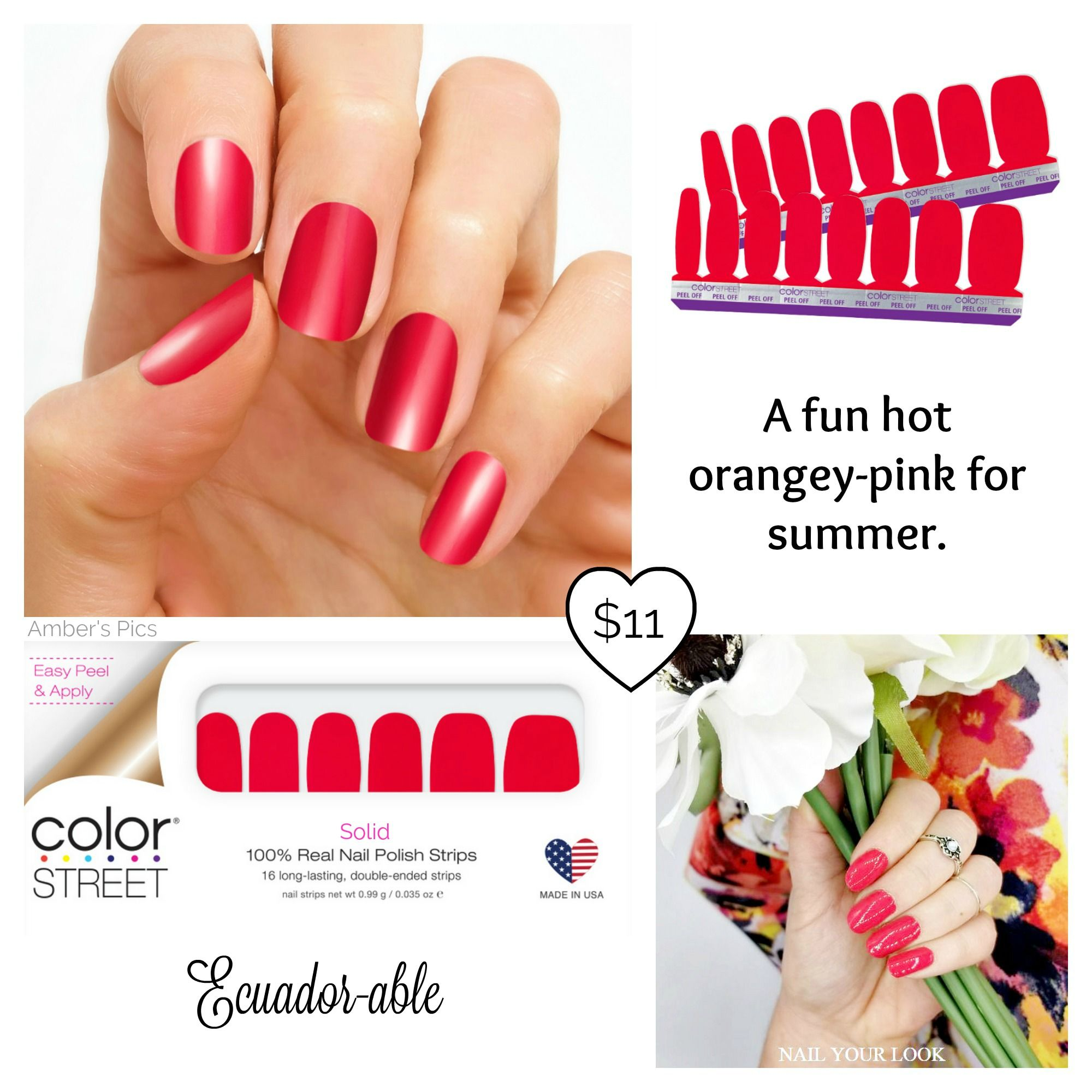 Ecuadorable color street nails color street nails