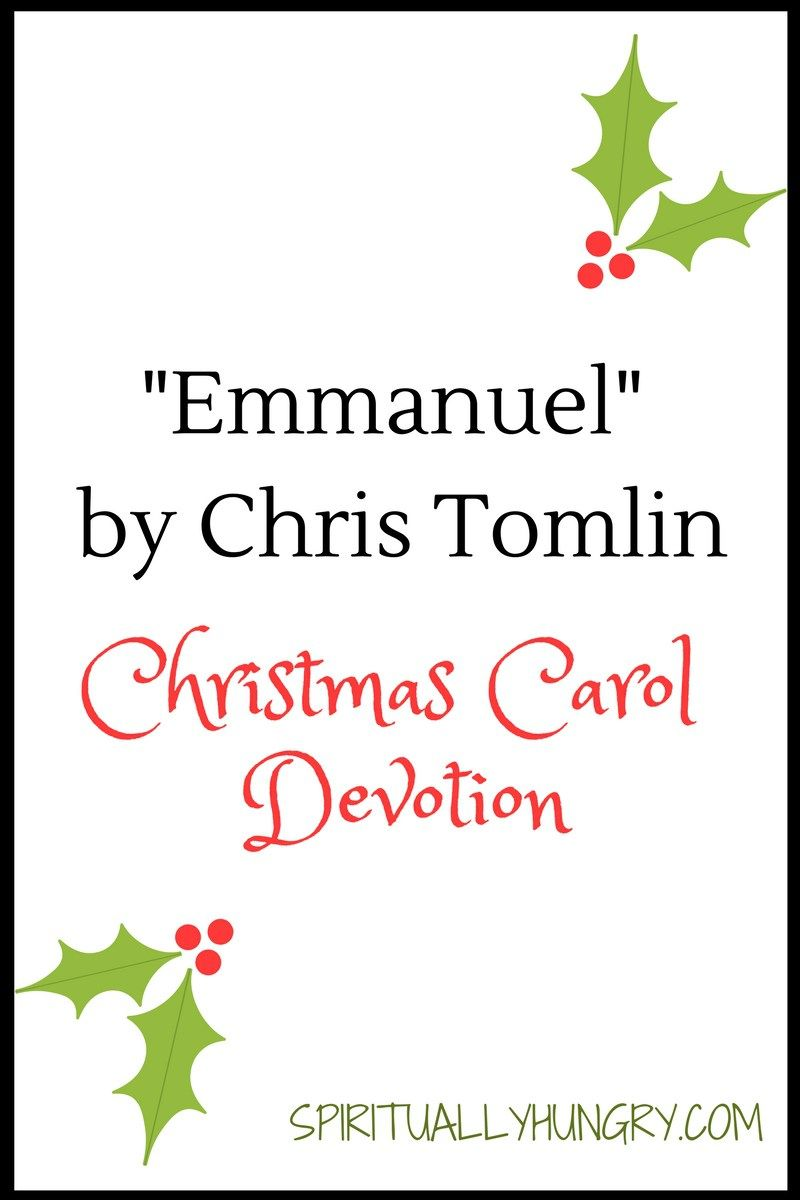 Emmanuel Christmas Devotion | Blessing Counters Group Board ...