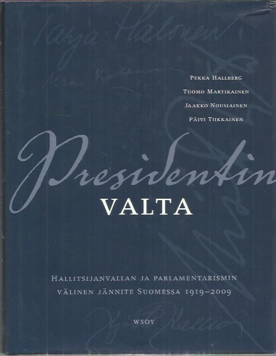 A book in Finnish about the President of Finland