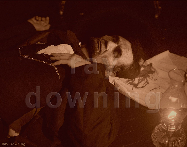 Abraham Lincoln Dead Body Www Pixshark Com Images