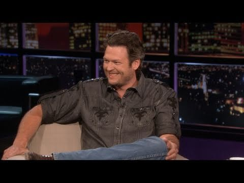 Blake's interview last year on Chelsea Lately.  Click here to watch his interview this year:  http://thecountrysite.com/2012/08/10/video-blake-sheltons-interview-on-chelsea-lately/#