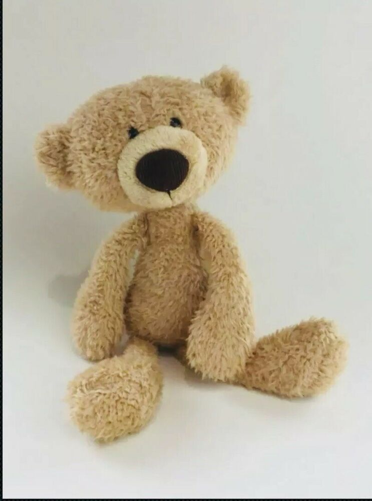 62349a188f5 Gund Toothpick Teddy Bear Stuffed Animal Plush Lovey Beige 15 Inches  4040131 VGC
