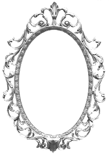 Espejos antiguos marcos pinterest espejos antiguos for Espejo transparente