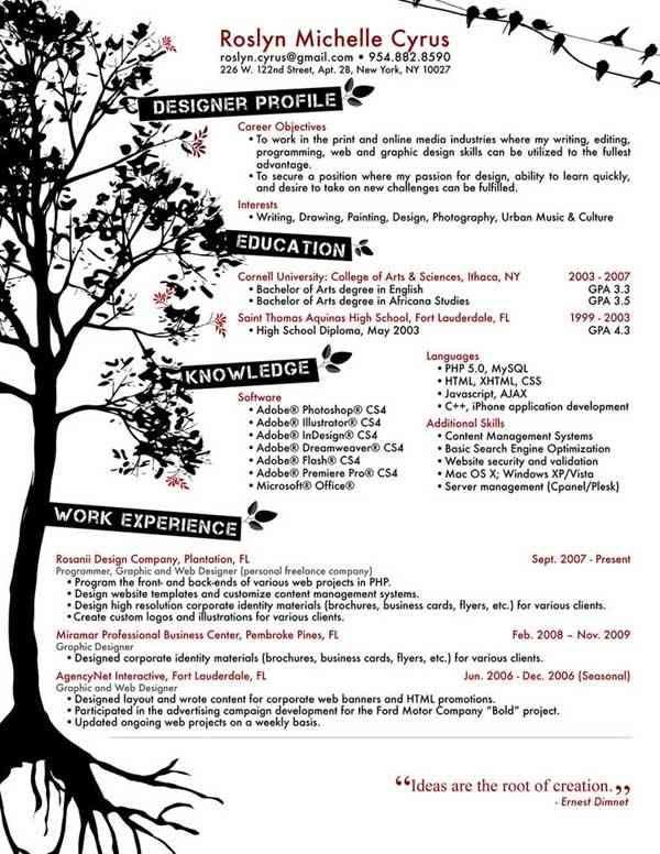 creative resume designs resumes Pinterest Creative, Creative