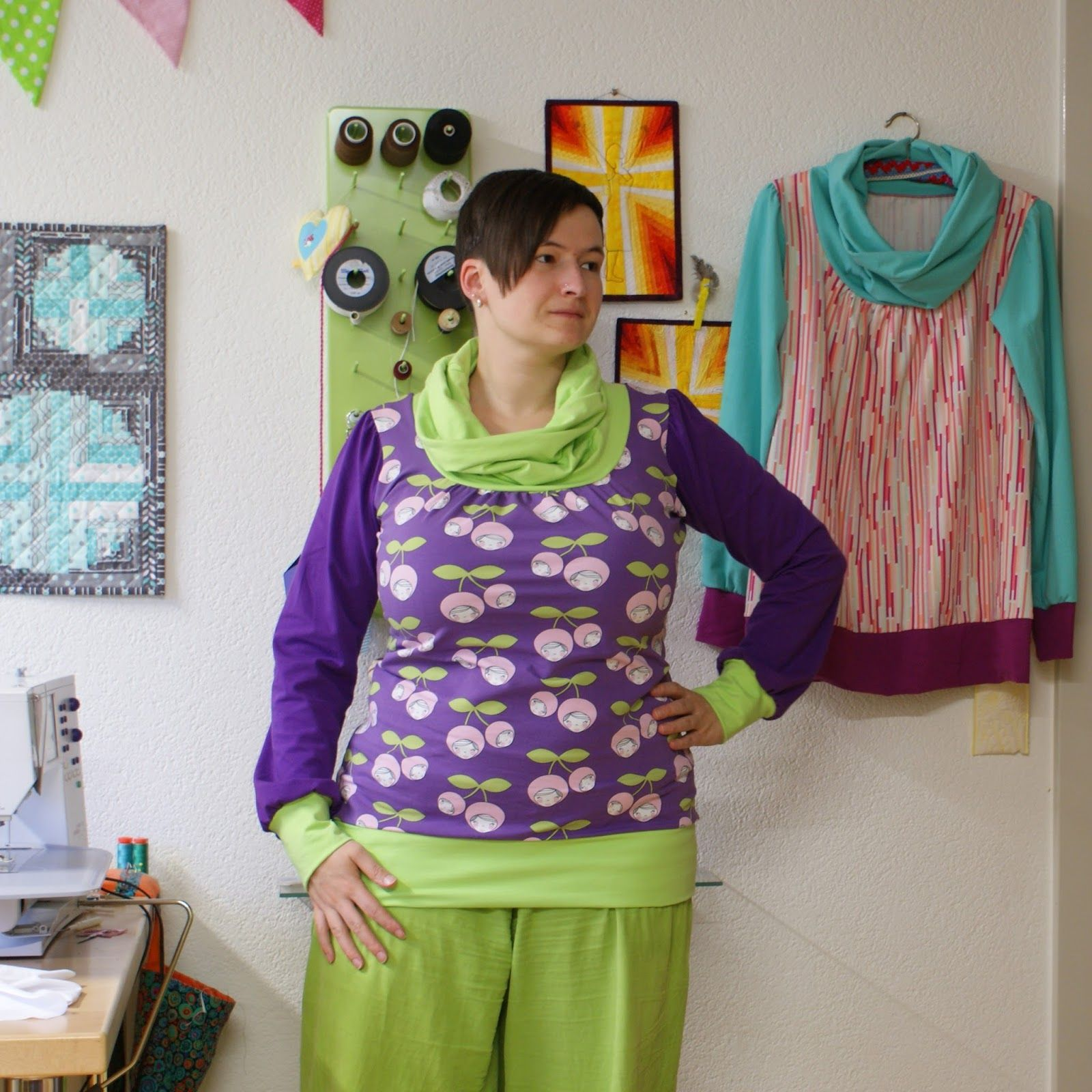 SCHNIG SCHNAG - Quilts and more: Zwei Shirts für mich... {Shelly}