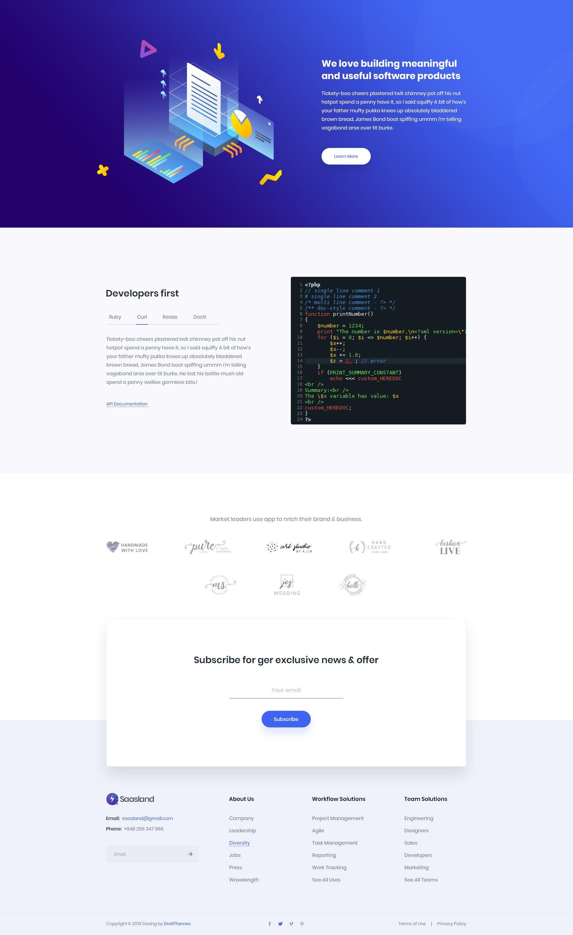 Pin On Landing Page Design