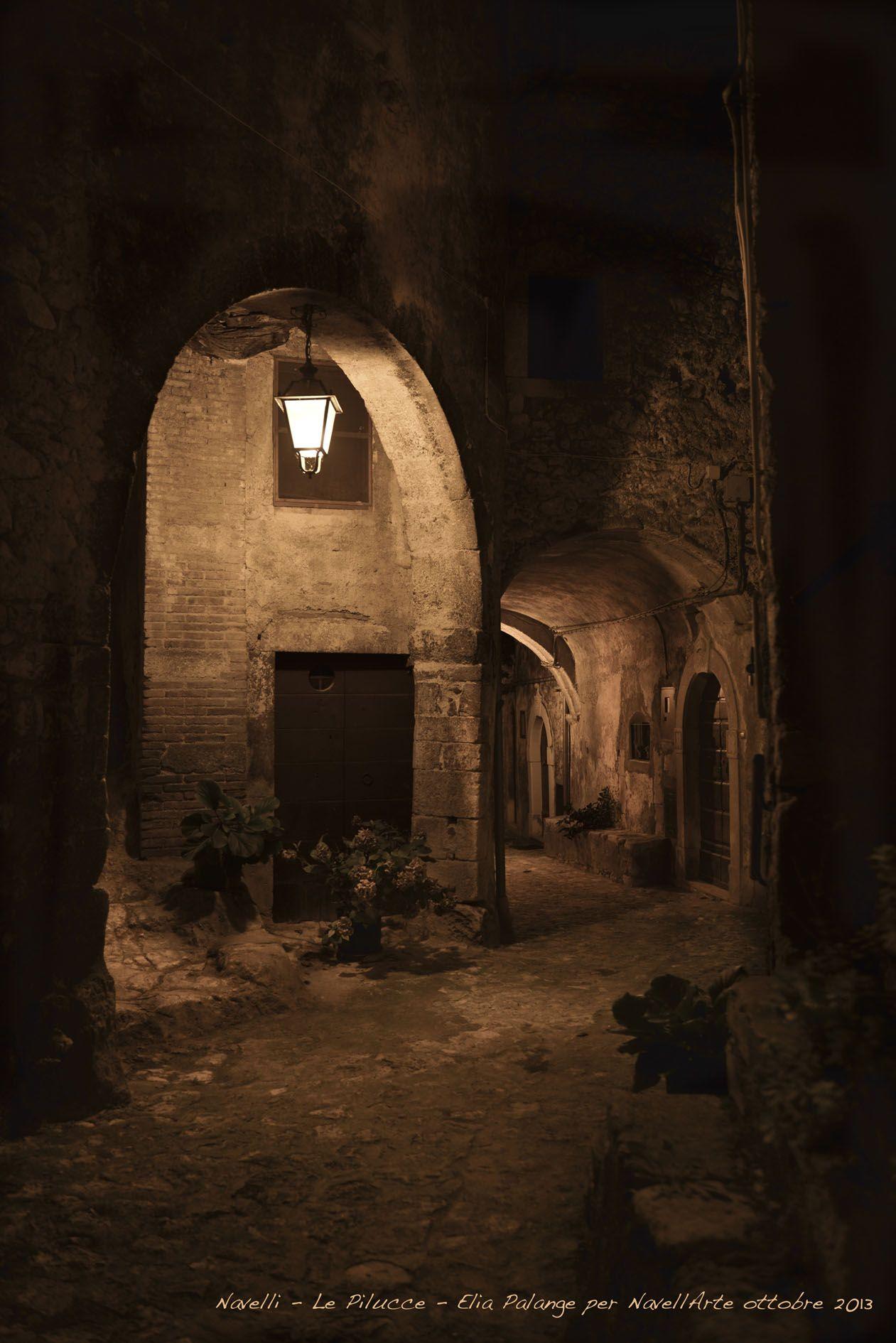 Scorcio medievale di Navelli, il paese dello zafferano DOP dell'Aquila