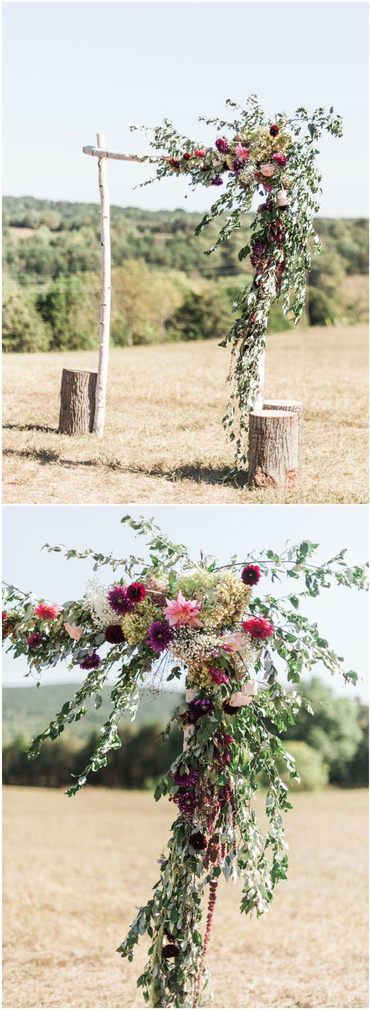 Wedding decorations natural  The Smarter Way to Wed  Natural Weddings  Pinterest  Florals