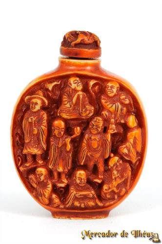 Frasco Tibetano Para Perfume Esculturas Longevidade. R$100,00