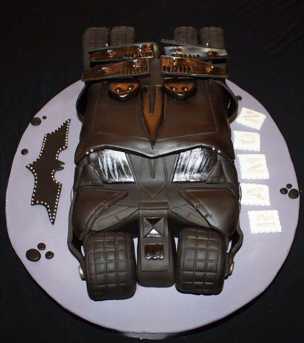 Wonderful Dark Knight Tumbler Cake Dark Knight Cake And Dark - Dark knight birthday cake