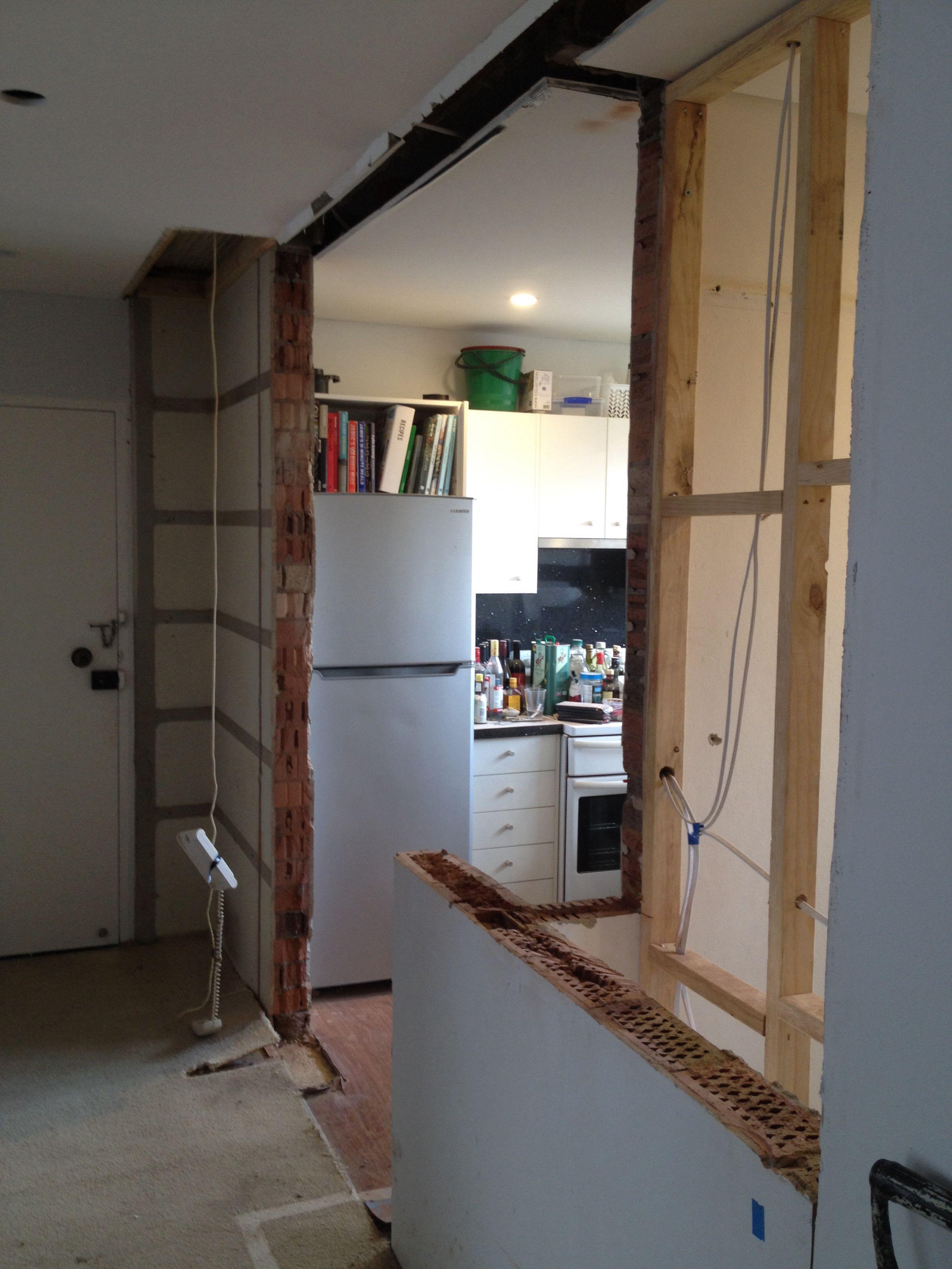Kitchen in progress - stage 1