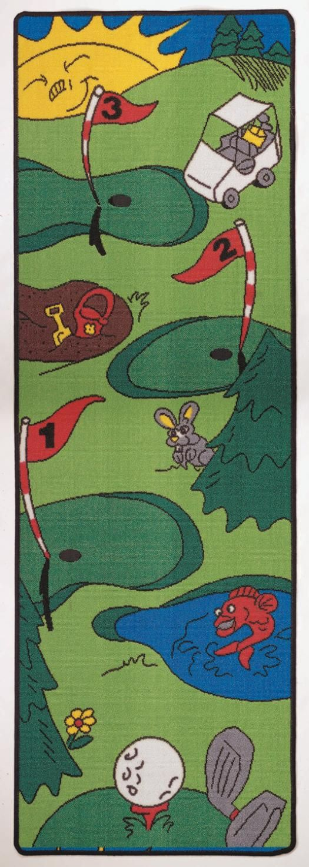 Golf Rug Home Decor