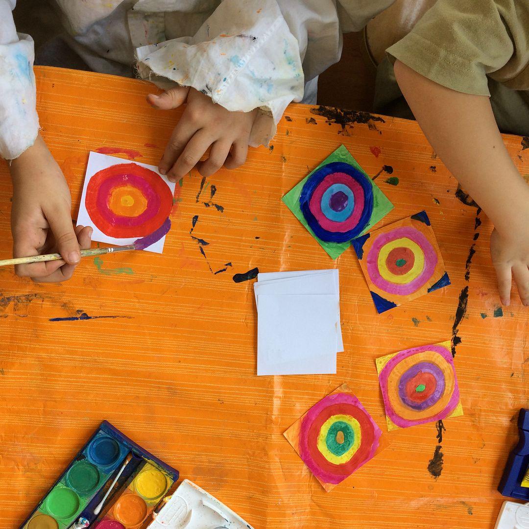 Wassily Kandinsky Nach Einem Kurzen Ausflug Ins Leben Kandinskys