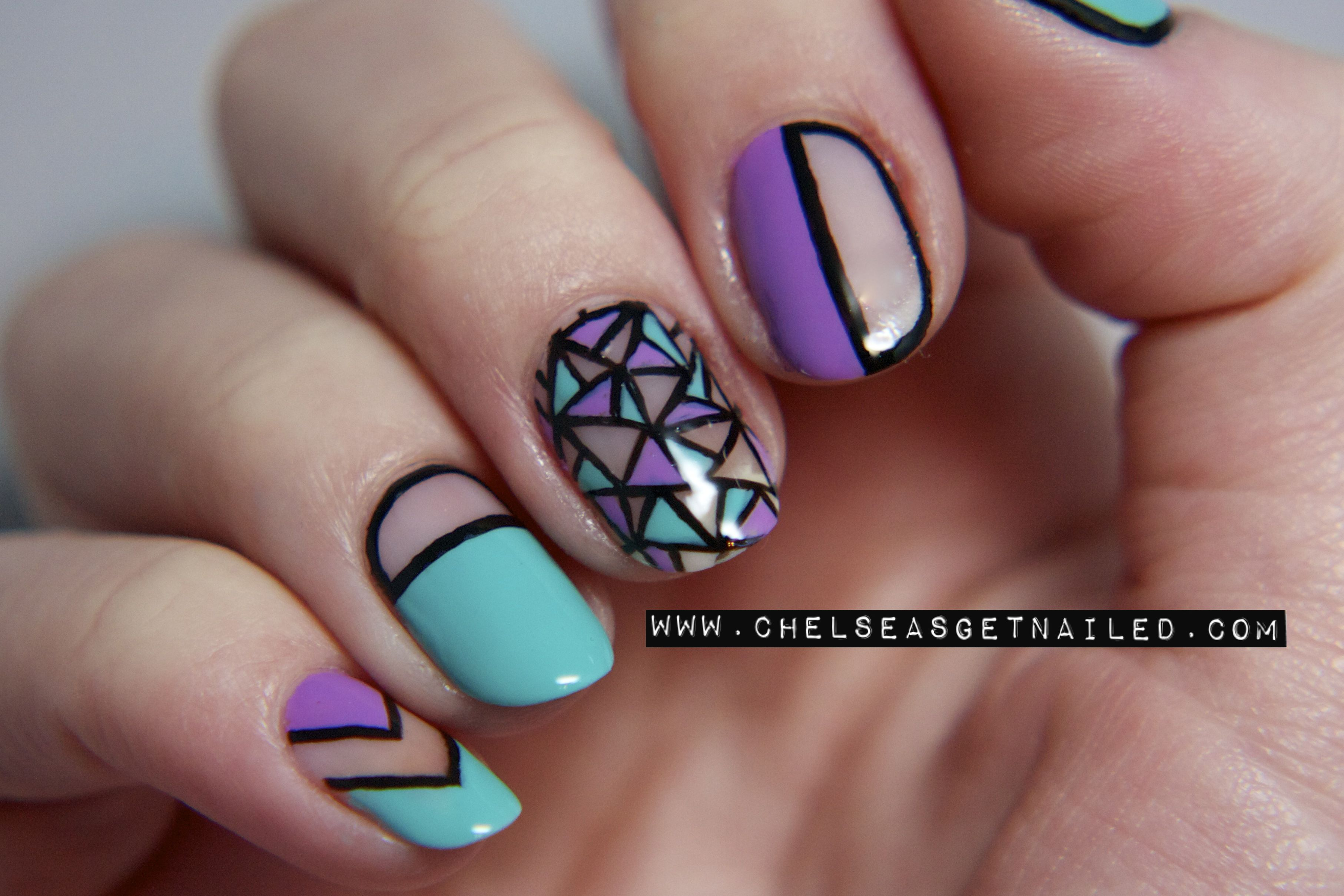 Cut Out Nails www.chelseasgetnailed.com | |CHELSEAQUEEN.COM ...