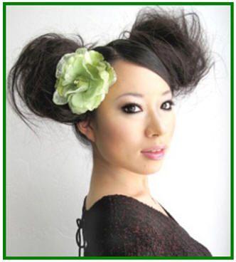 Asian High Double Sided Bun Hairstyles Jpg 332 368 High Bun Hairstyles Bun Hairstyles Hair Styles