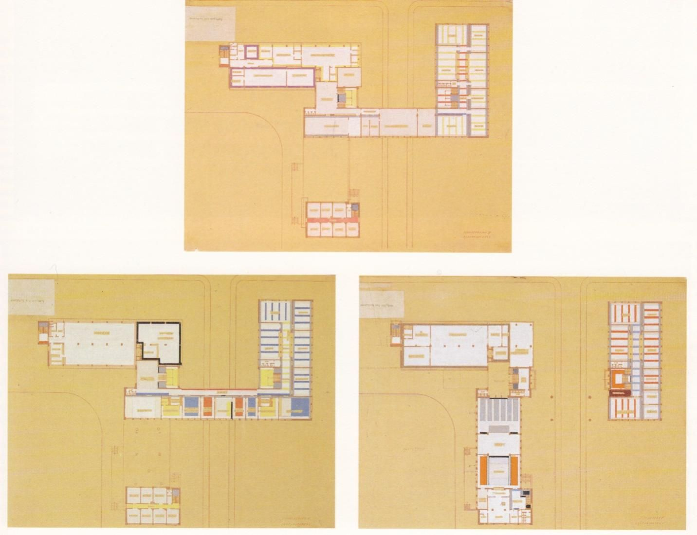 colour plan of the bauhaus author hinnerk scheper 1926 bauhaus archiv berlin estate. Black Bedroom Furniture Sets. Home Design Ideas