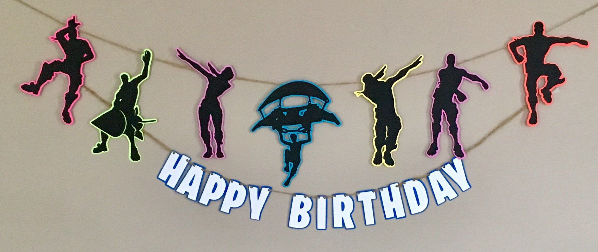 Best F Fortnight Cupcake Toppers Banner Sign Included Fortnite Cake Topper