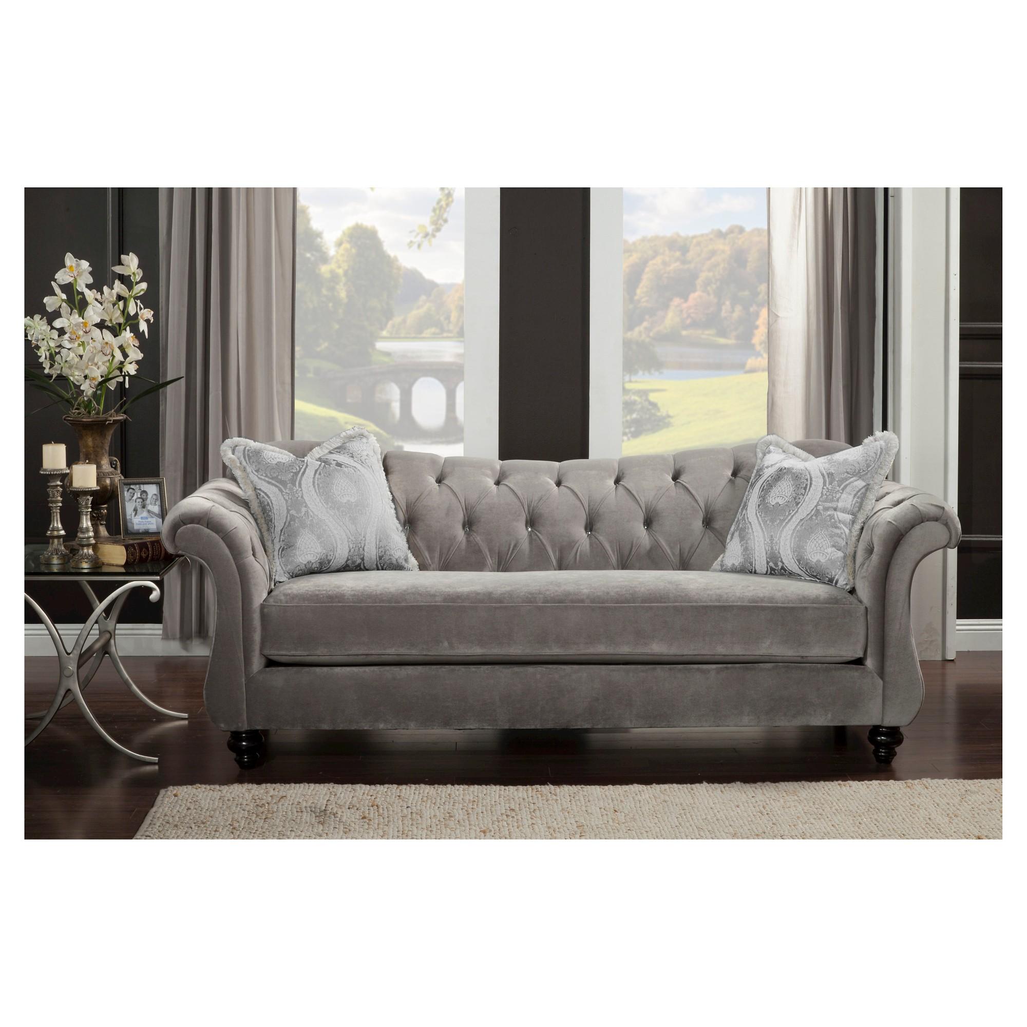 Alexandria Victorian Sofa Gray Iohomes Premium Sofa Victorian Sofa Furniture