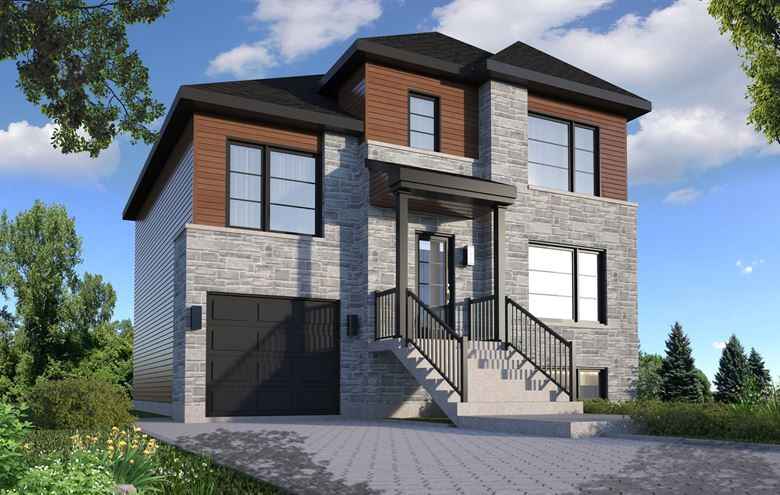 Maison Modèle Lucie  Modèle de Maison neuve à vendre à Laval