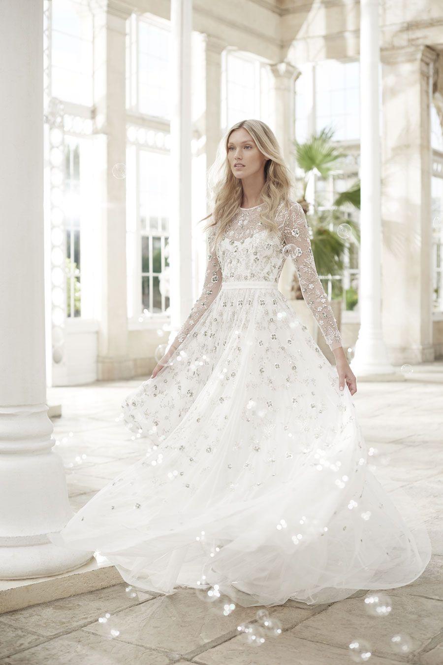 Wonderfully Romantic Wedding Dresses: The Needle & Thread Spring ...