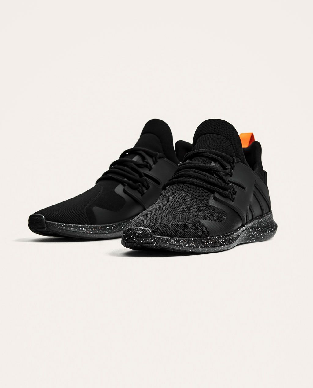 e99289aac BLACK SNEAKERS WITH PRINTED SOLES-BEST SELLERS-MAN