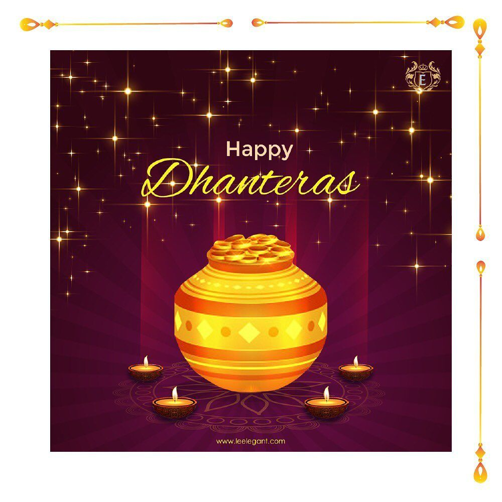May Goddess Lakshmi shower on you her immense blessings, enriching your lives with prosperity, happiness and joy. Leelegant wishes you a Happy Dhanteras.  #eventdecor #elegantbanquet #weddingplanner #banquethall #decor #decorations #interiors #interiordesign #interiordecor #luxury #wedding #amazing #royal #arrangement #flowerart #wedding #ceremonydecor #ceremony #instagood #instafood #specialday #comfort #flowers #cocktail #party #parties #dhanteraswishes
