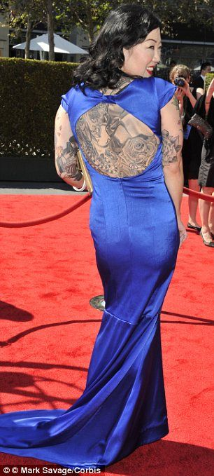 Margaret Cho Forced to Cover Up Her Nude Tattooed Body at