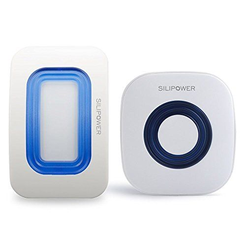 Silipower Wireless Home Security Driveway Alarm Motion Detector Alert Motion Sensor Home Alarm Mailbox Alarm Store Door Entry Chime With Led Indicator Learn