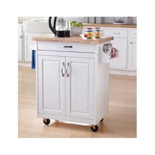 Add Storage And Space To Your Home With The Mainstays Kitchen Island Cart.  Whether You