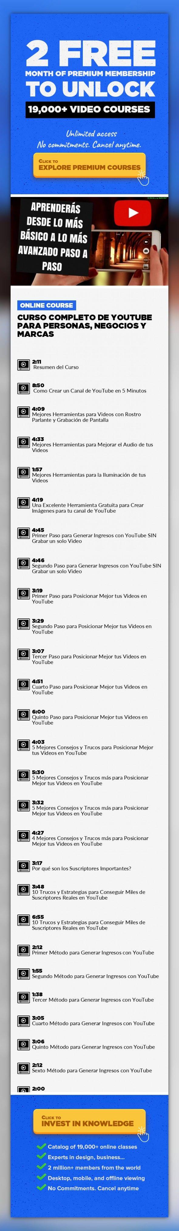 Curso Completo de YouTube Para Personas, Negocios y Marcas ...