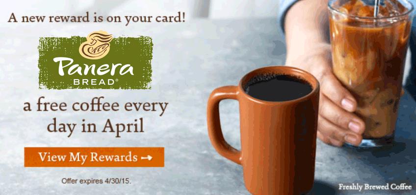 Pinned April 5th Free rewards members enjoy free coffee