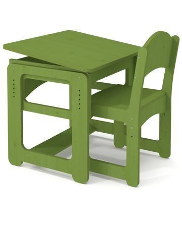 Andiolly Комплект Энди зеленый  — 6753р. ----------------------- Комплект регулируемой мебели Энди для детей от 3 лет. В комплект входит парта и стульчик.