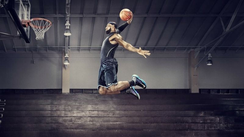 Nba Jumping Jumping Nba Basketball Nike Lebron James Headbands 1920x1080 Wallpaper Basketball Wallp Lebron James Dunking Lebron James Lebron James Wallpapers