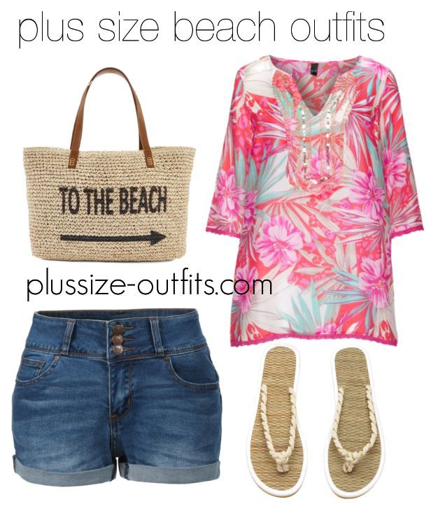 97b5365c5b 5 plus size beach outfits to wear this summer - plus size fashion for women